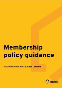 Membership Policy Guidance