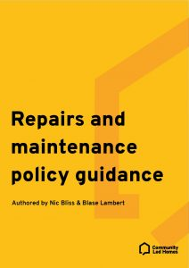 repairs-and-maintenance-policy-guidance