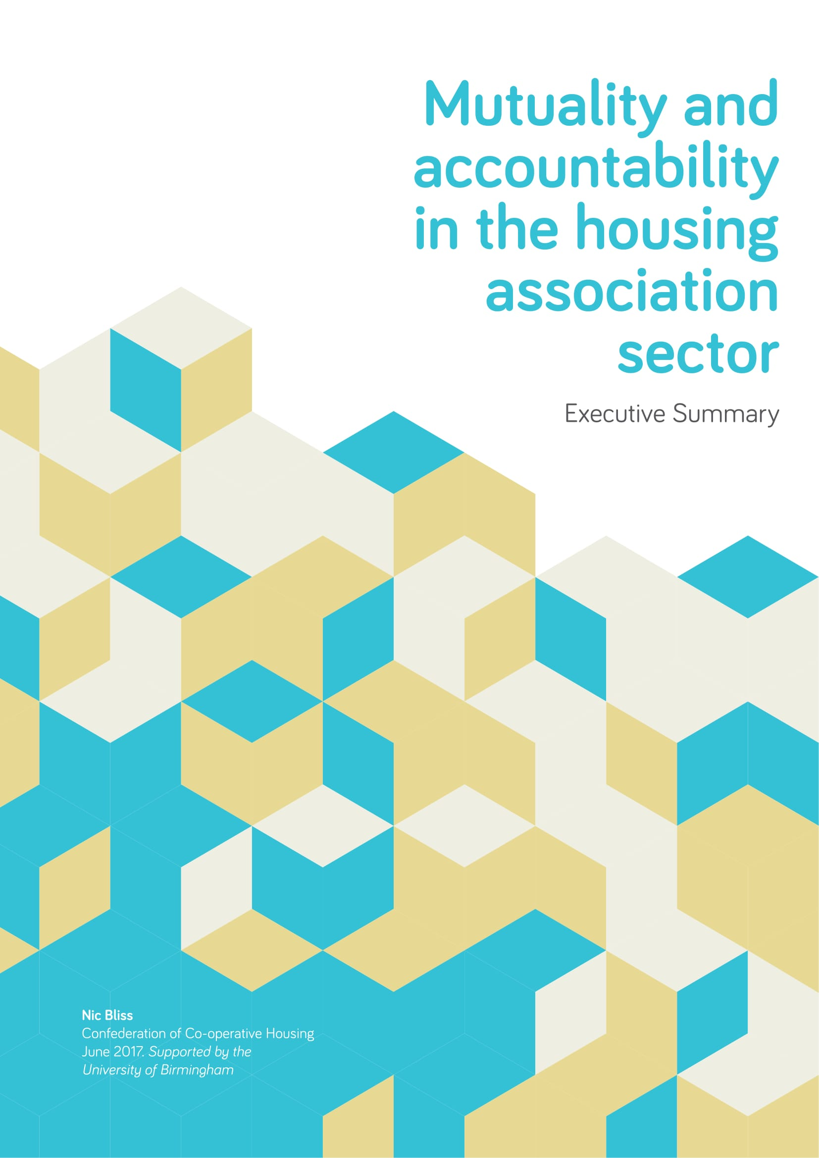 Mutuality and accountability in the housing association sector